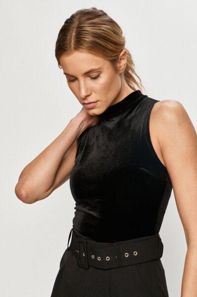 Undress Code - Body PRETTY WOMAN, Negru, Model in fason body, Fason mulat, Model de golf