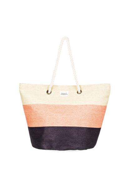 ROXY - Geanta de plaja Sunseeker, 30L, Multicolora, Model de umar, Textil