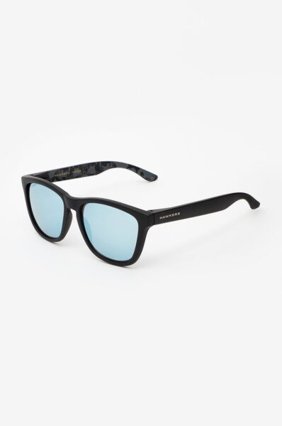 Hawkers - Ochelari X MESSI CARBON BLACK, Negru,Forma ramelor: patrat, Protectie UV