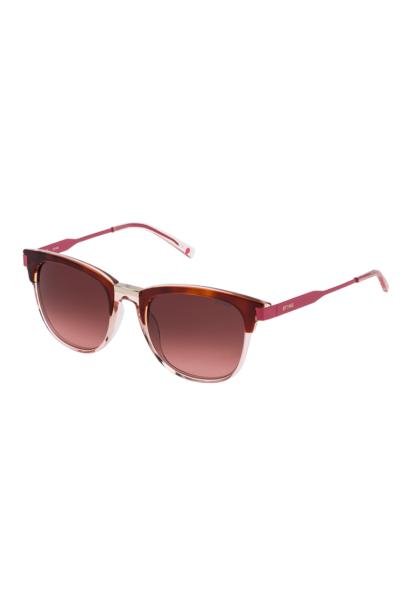 STING -Ochelari de soare unisex cu lentile in degrade, Roz,Protectie UV: 400, Lentila degrade