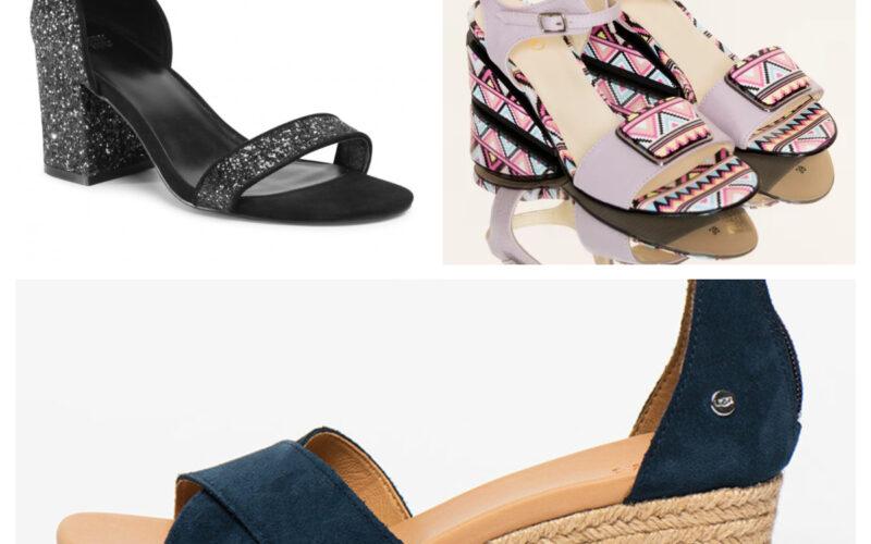 Saboti si sandale de dama – Modele noi 2021